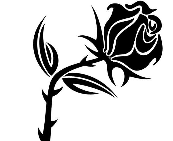 Free download clip art. Clipart rose vector