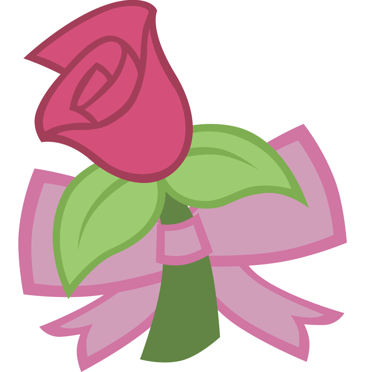 Clipart roses blossom. Request cutie mark rose