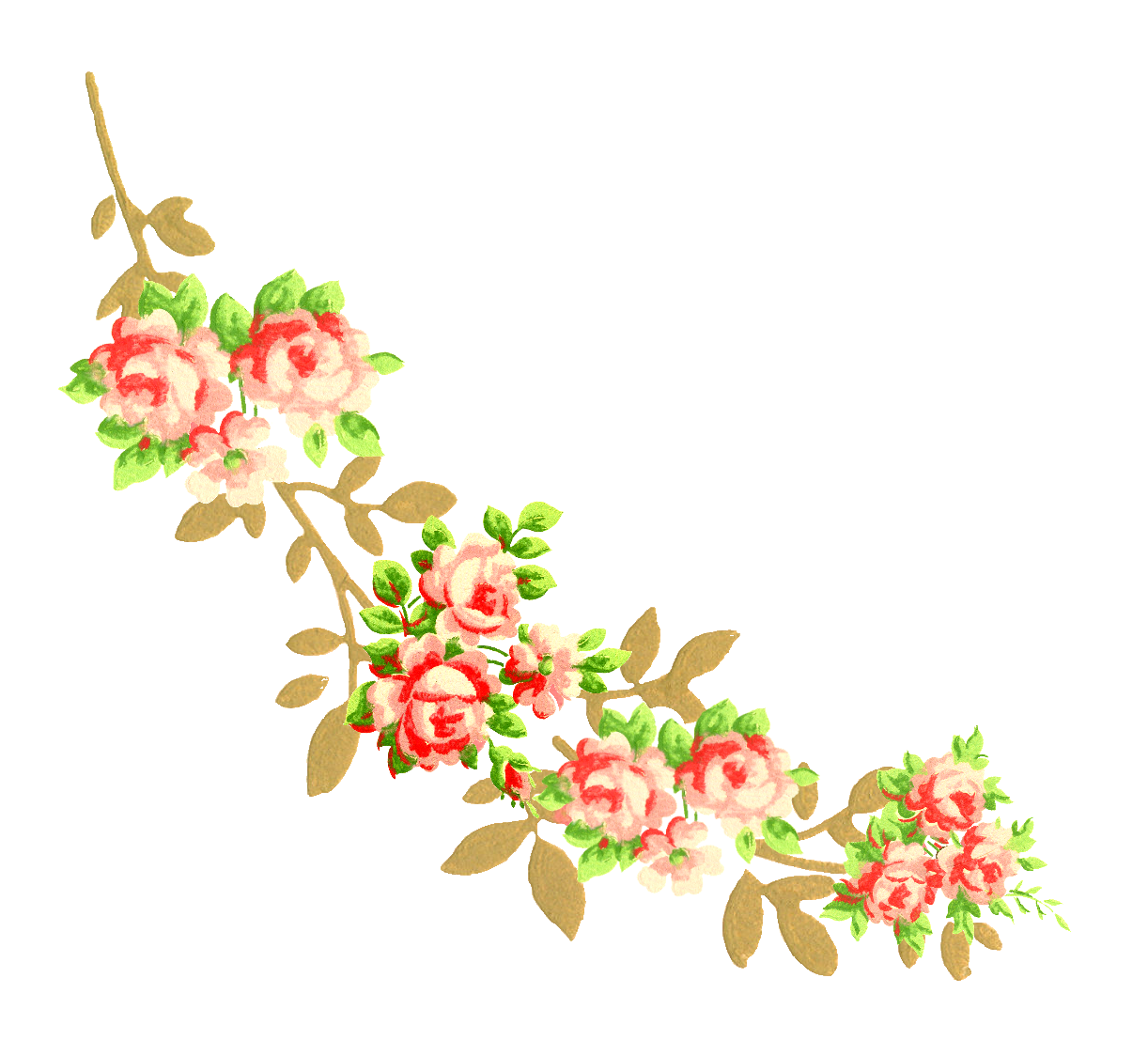 Flower design png. The graphics monarch baby