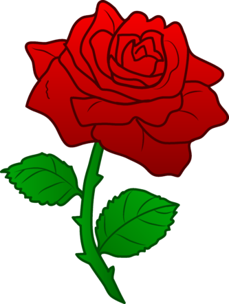 Rose group png clipartix. Clipart roses cartoon