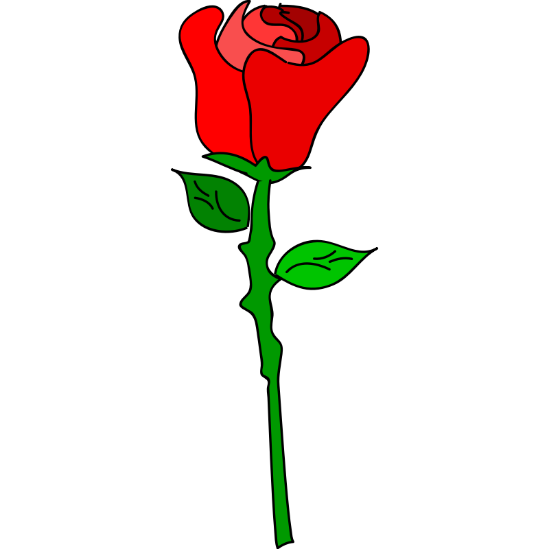 Clipart roses cartoon. Free rose pictures download