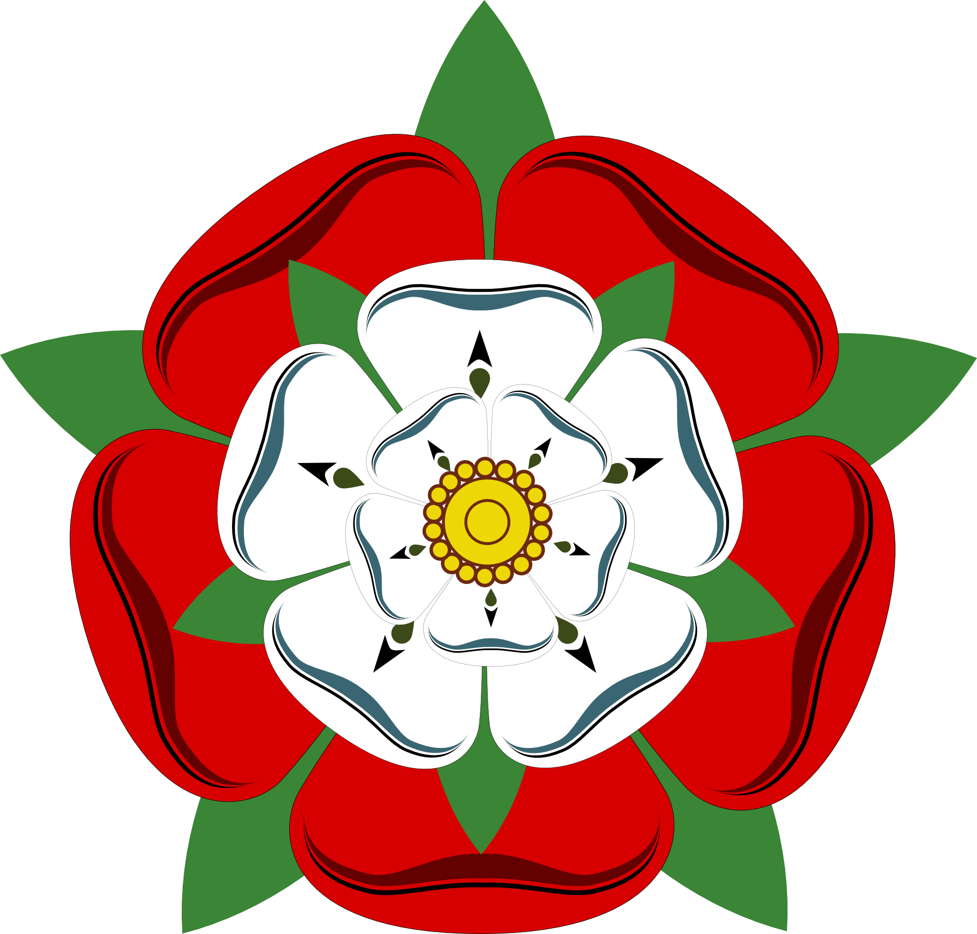 The tudor rose a. Clipart roses dying
