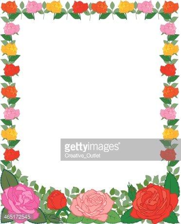 C premium clipartlogo com. Clipart roses frame
