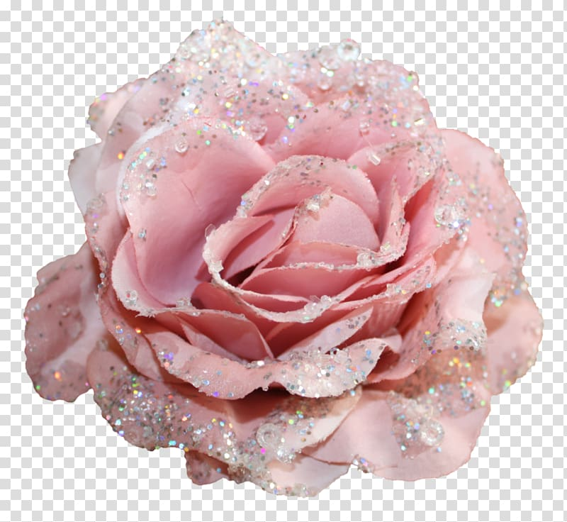 Clipart roses glitter. Pink rose with glitters
