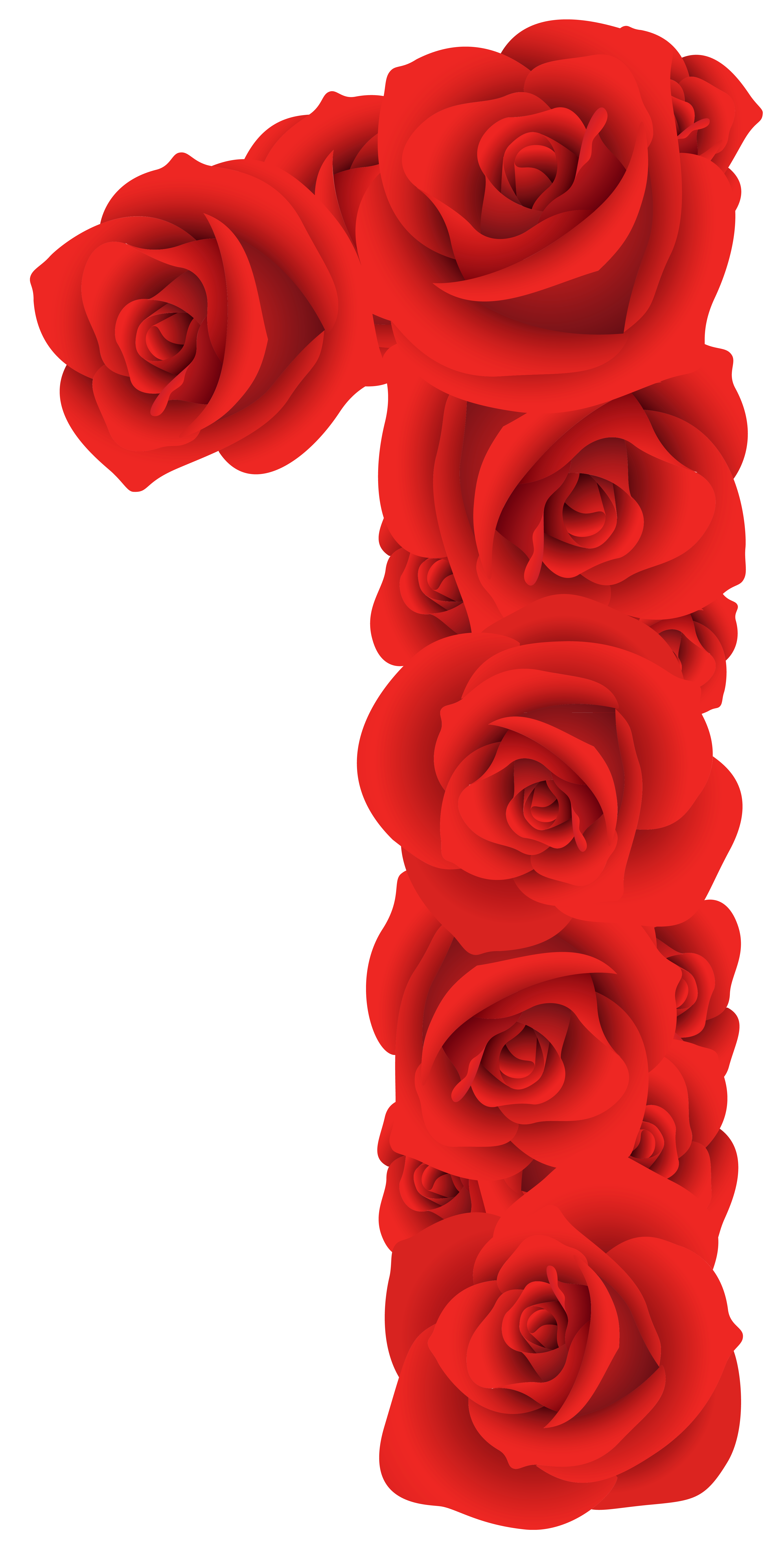 Red rose decorative pink. Clipart roses head