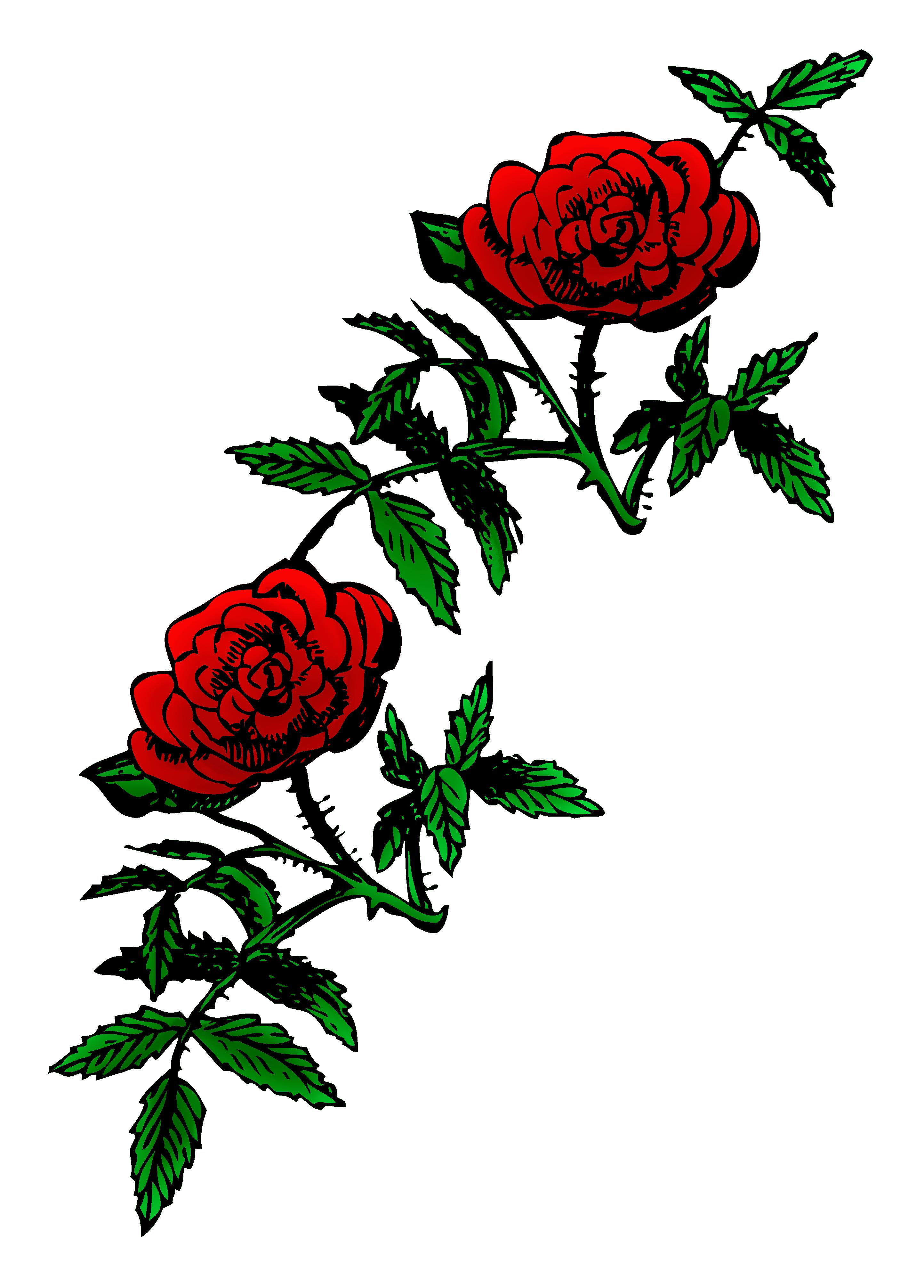 Public domain clip art. Clipart roses knife