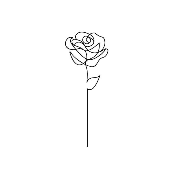 Clipart roses minimalist. Pin by k on
