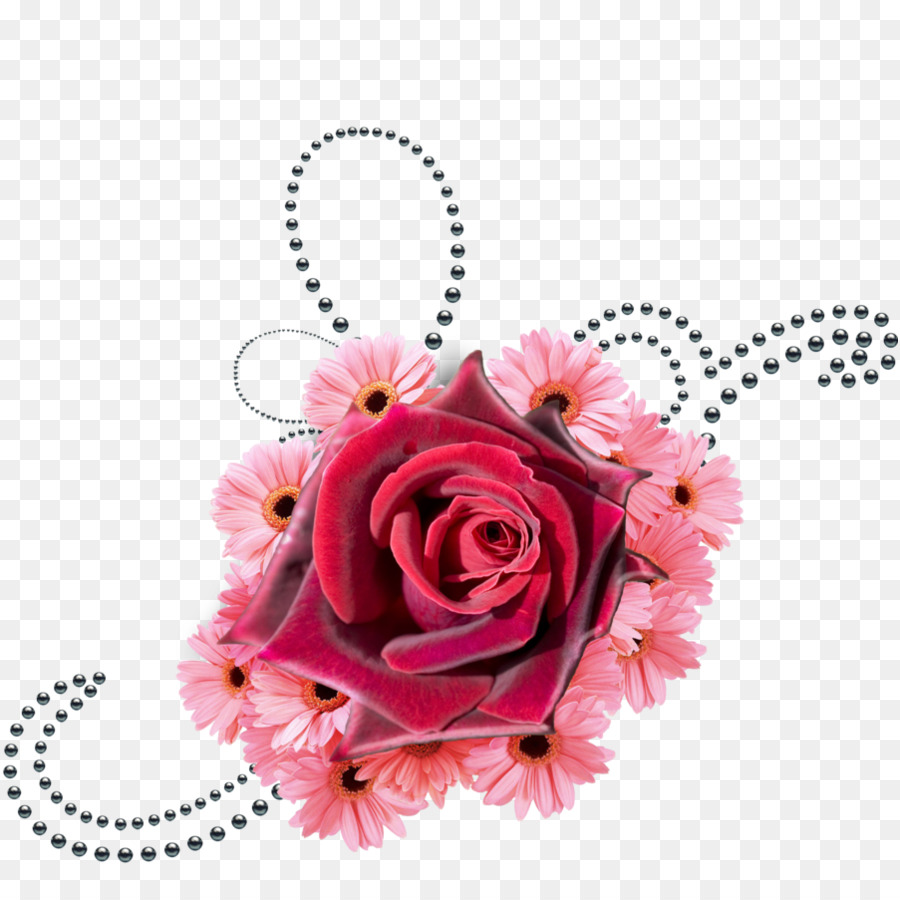 Floral flower background rose. Clipart roses pearl