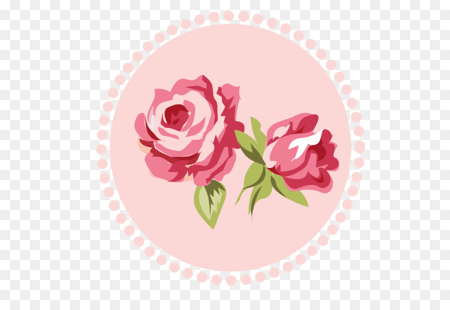 Rose clipart shabby chic. Floral pattern background flower