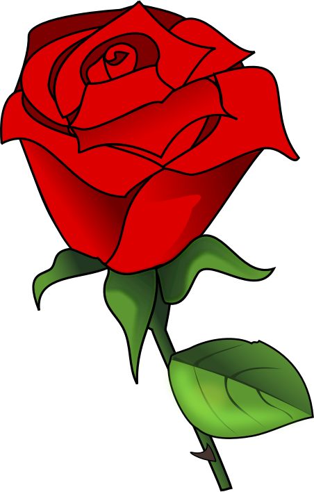 Free to use cliparts. Clipart roses simple