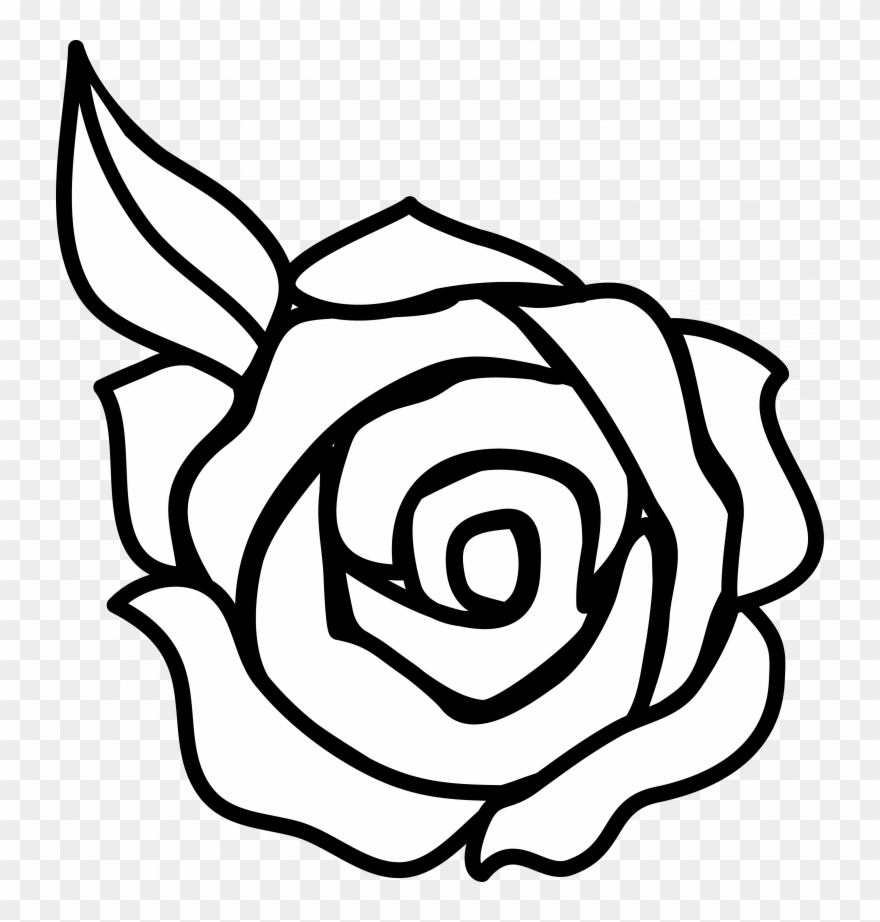 Clipart roses simple. Download rose clip art