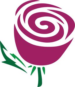 Svg file cricut hobbies. Rose clipart swirl