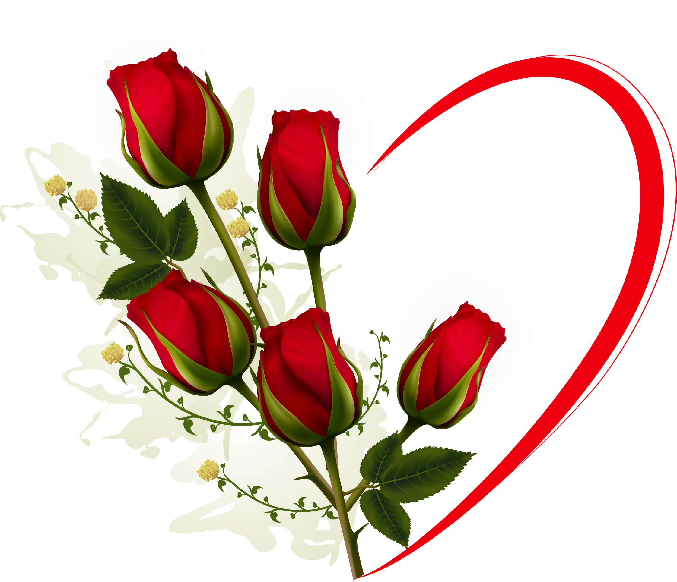 Clipart roses valentines. Day rose clip art