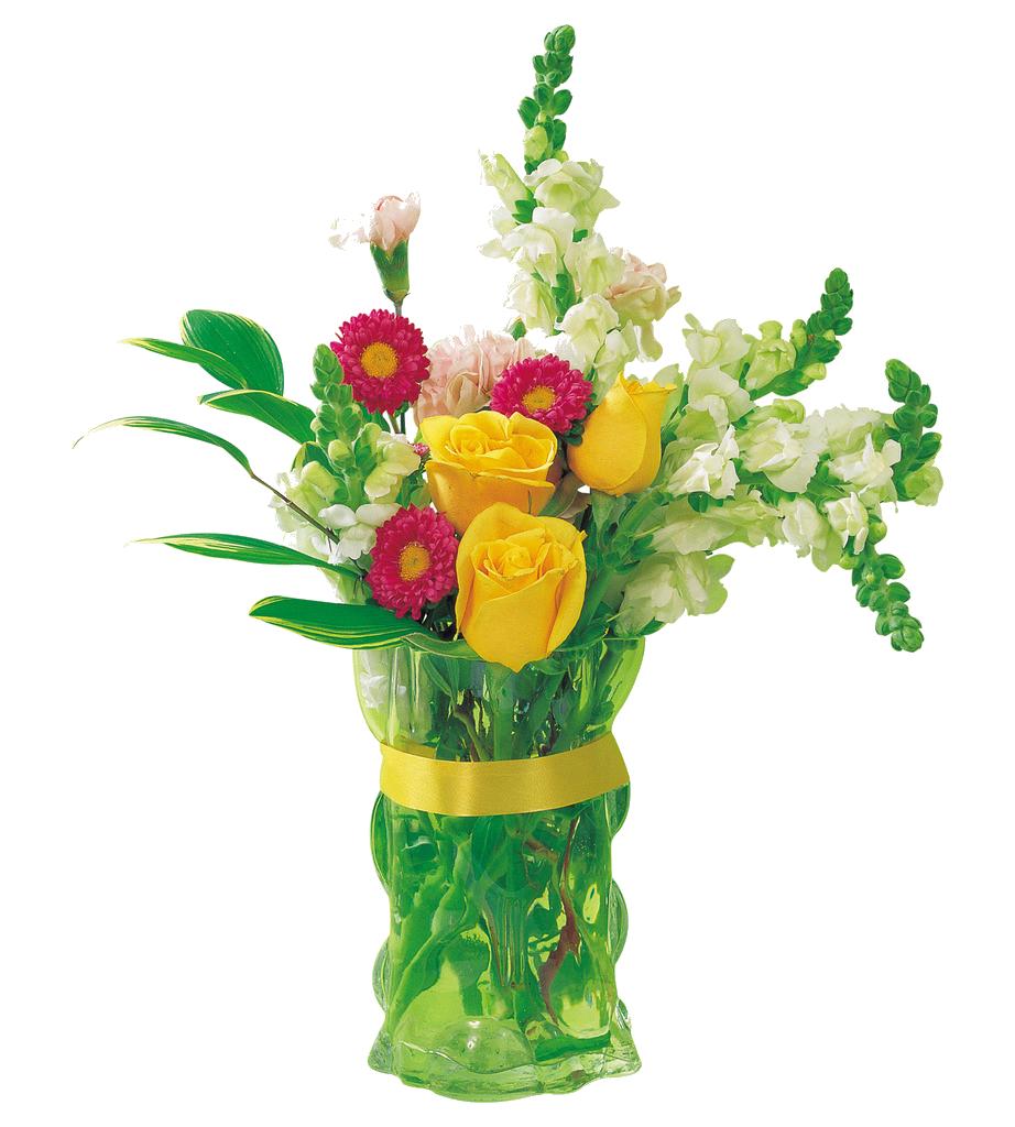 Flower rose clip art. Clipart roses vase
