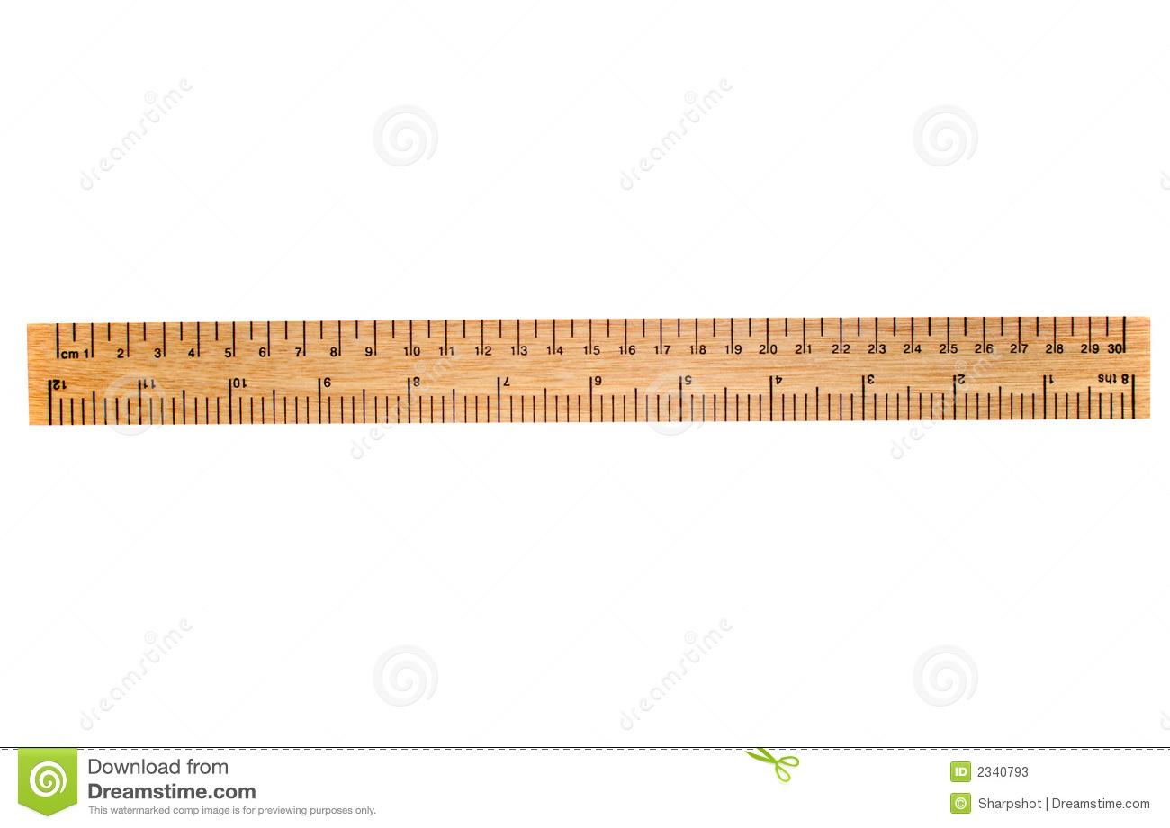 Clipart ruler 30 cm.  station