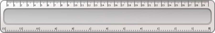 Ruler, Geometry, Mathematics, Draw - Ruler Clipart Cm, HD Png Download ,  Transparent Png Image - PNGitem