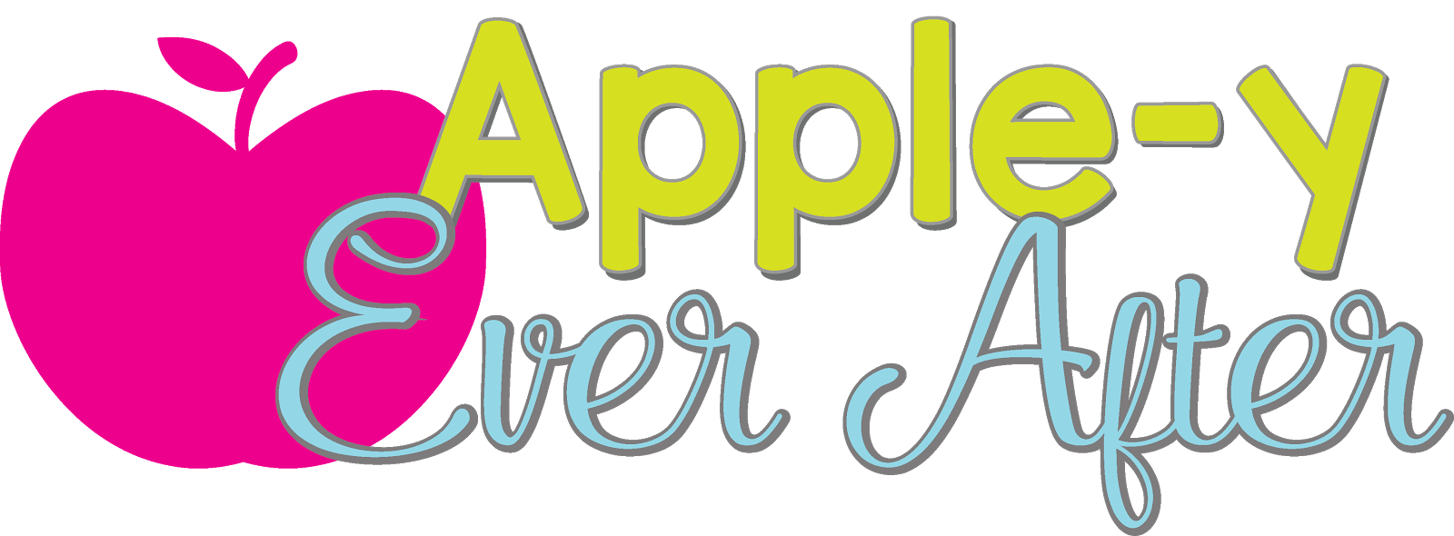 Y ever after . Clipart ruler apple