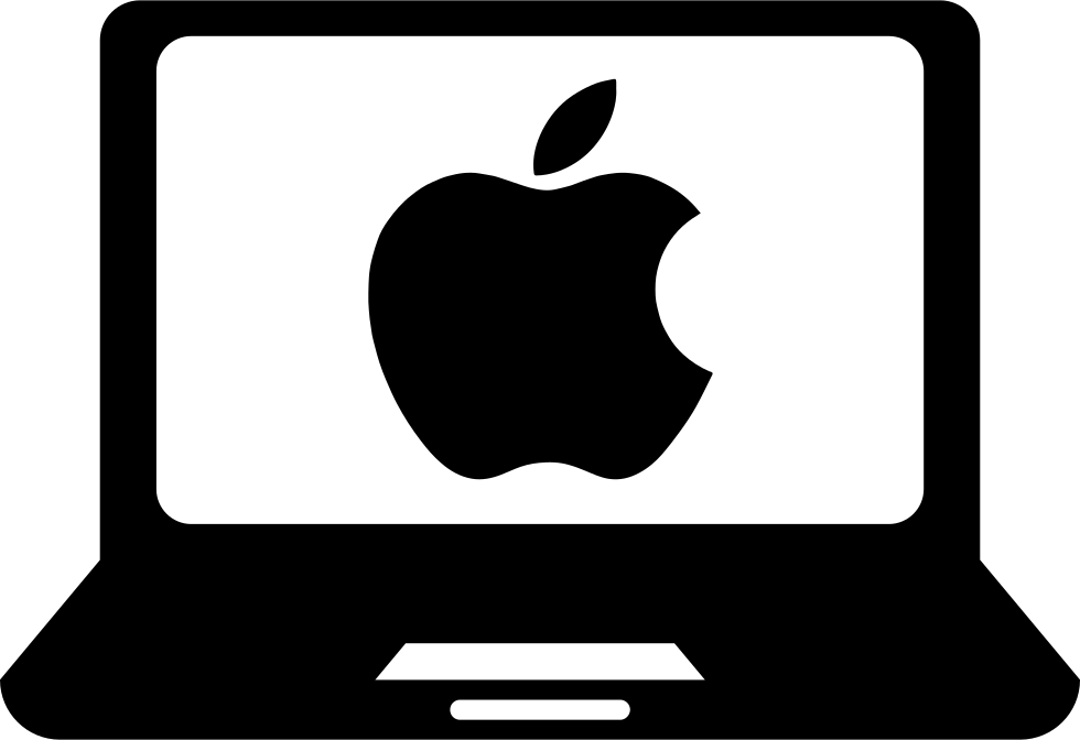Clipart ruler apple. Laptop computer svg png