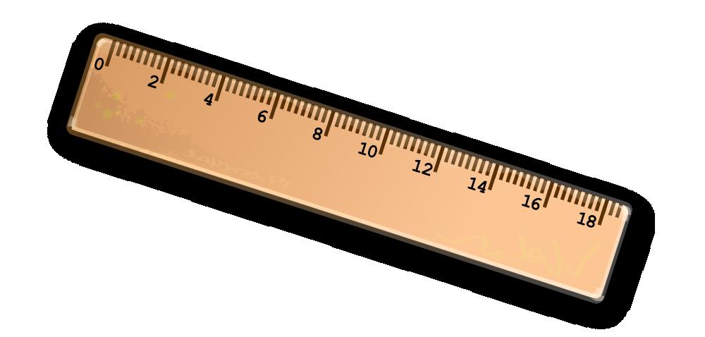 Clipart ruler blank. Onlinelabels clip art ruller