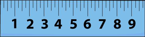 Clip art school . Clipart ruler blue
