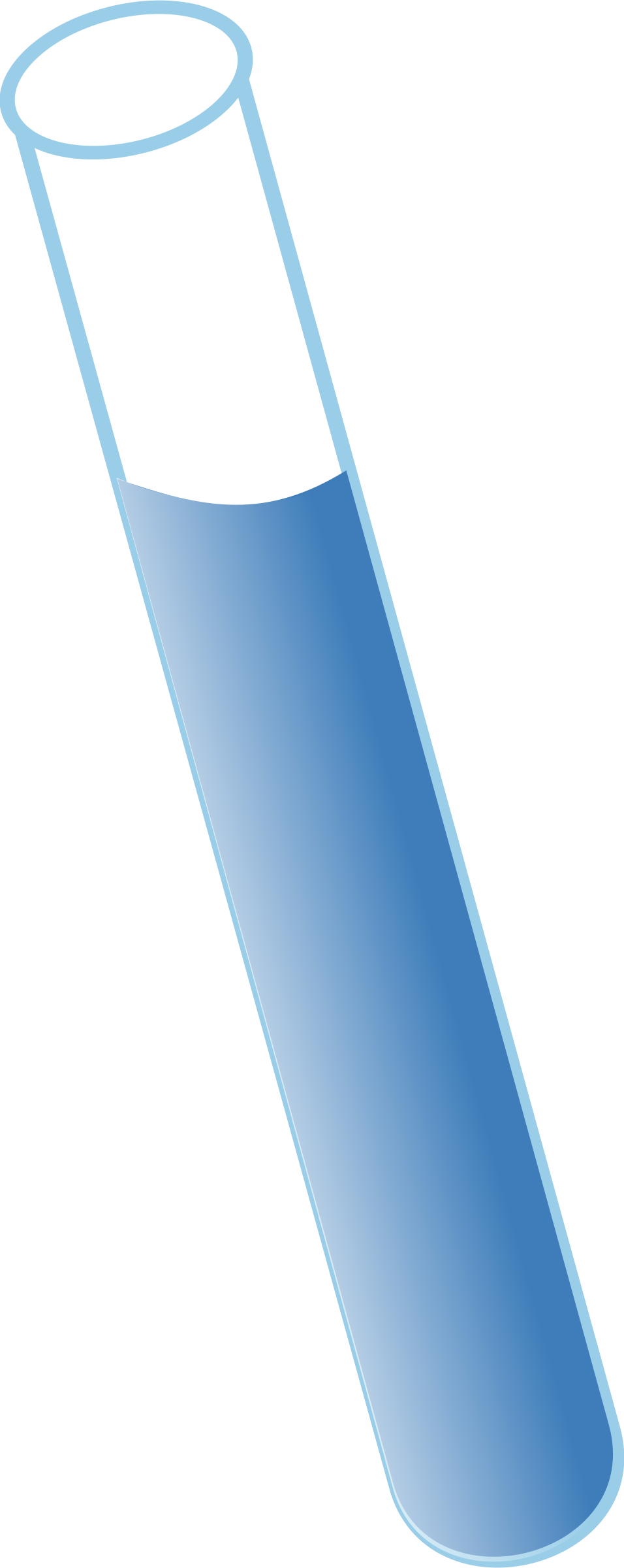 Clipart ruler blue. Test tube images free