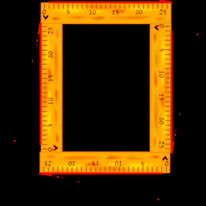 Clipart ruler border.