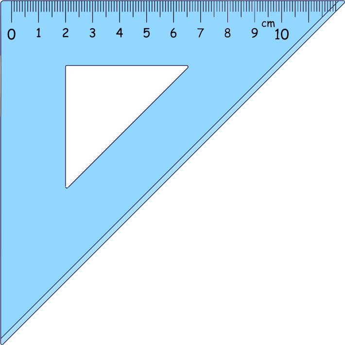 Ruler clipart school. Triangle medium image png