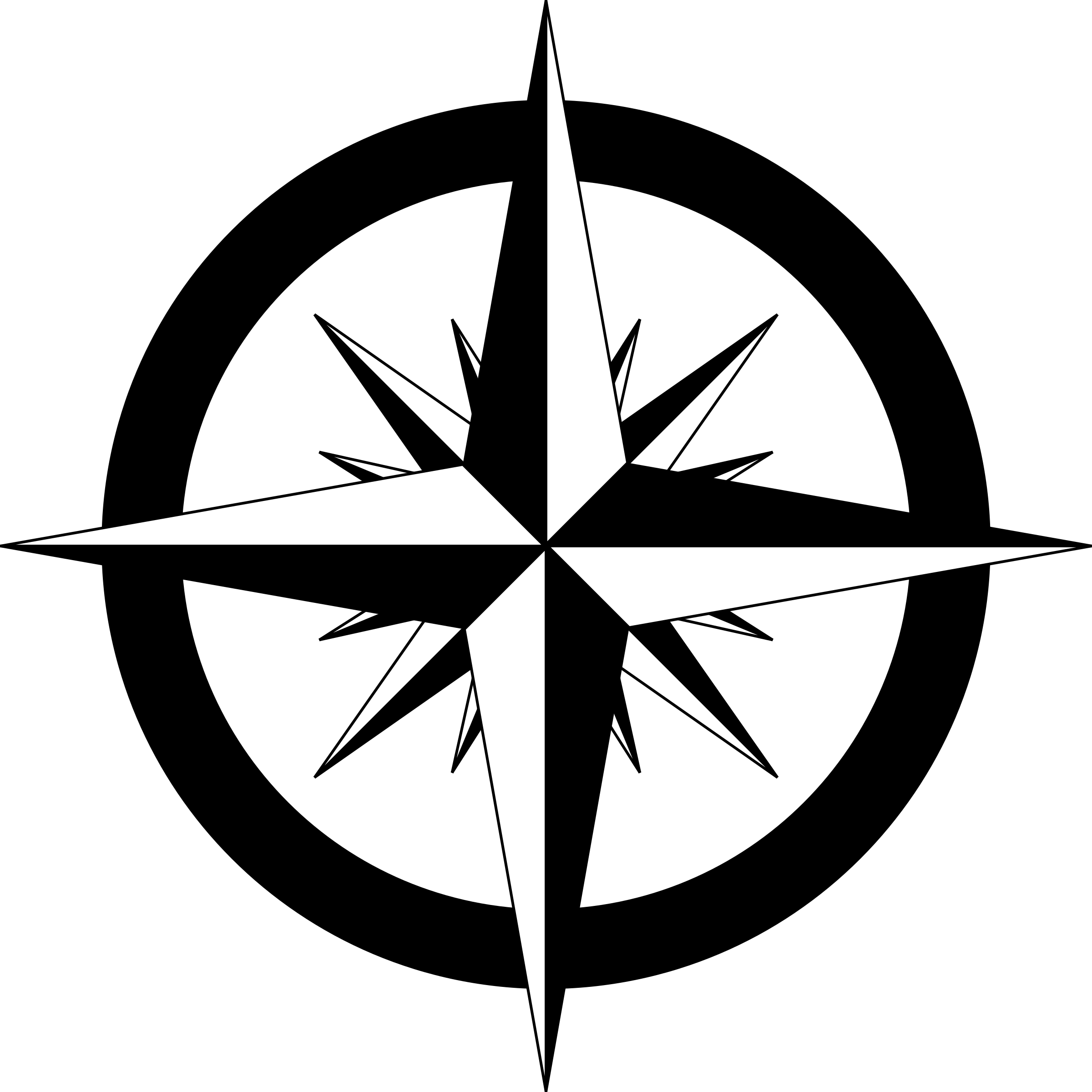 Steampunk clipart compass rose. Drawing with a at