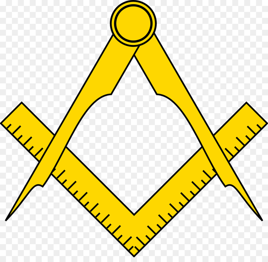 Yellow background compass . Clipart ruler construction