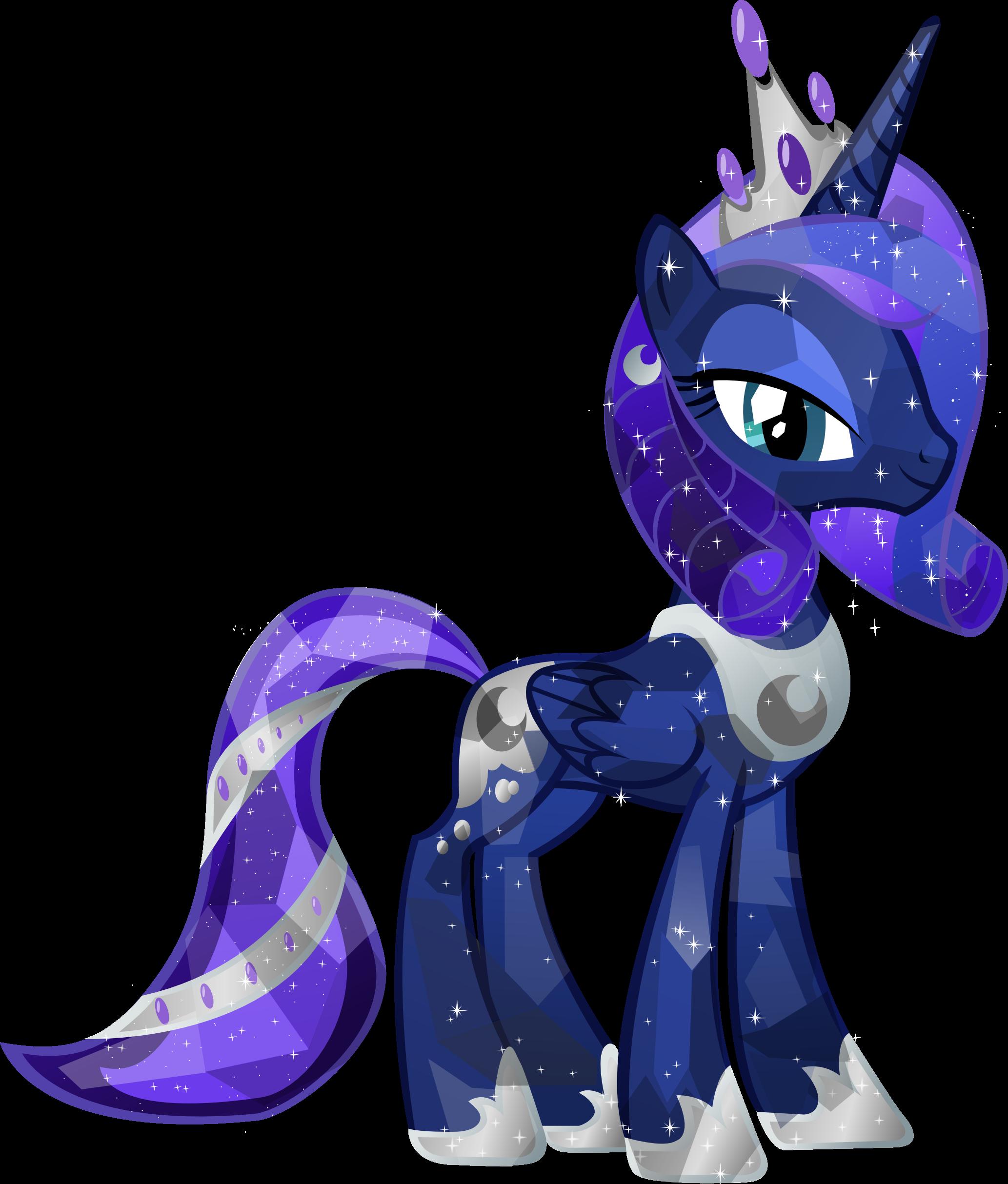 Image princess luna png. Clipart ruler crystal
