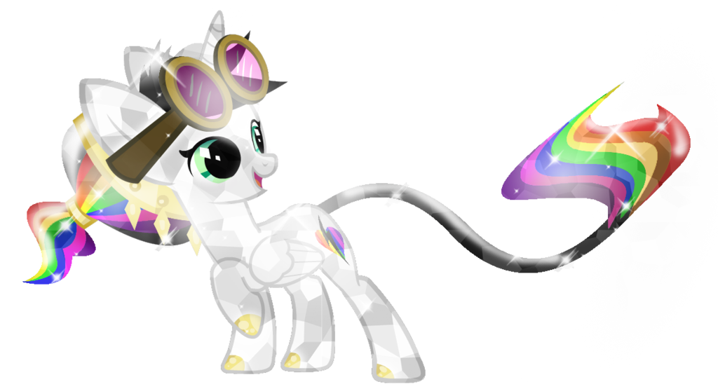 Clipart ruler crystal. Pony lightning bliss by