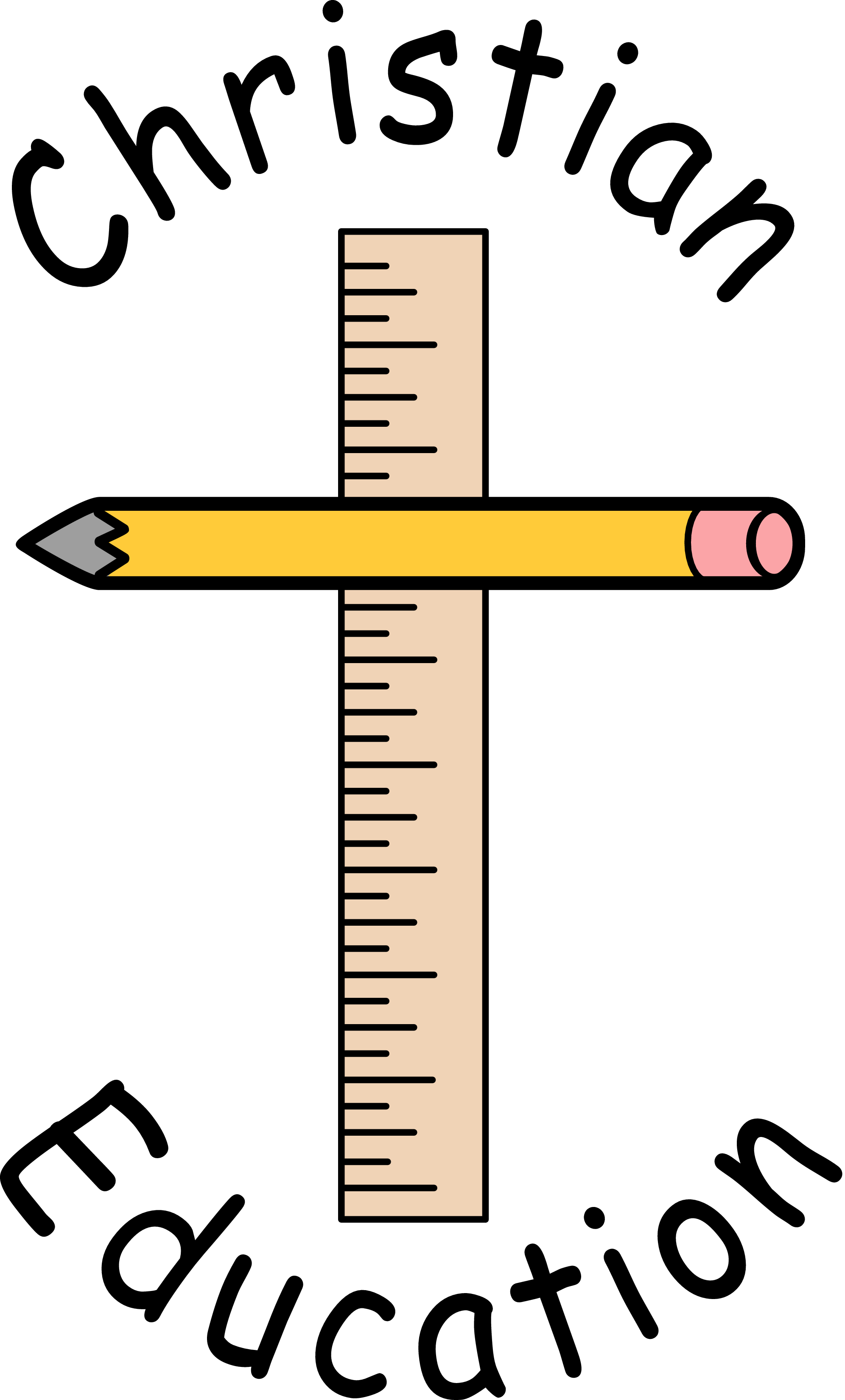 The cost of christian. Clipart ruler education