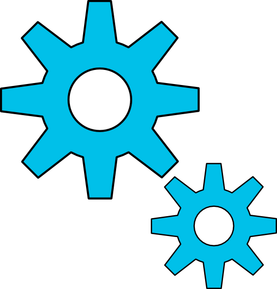 Gear clipart teamwork. Engineering panda free images