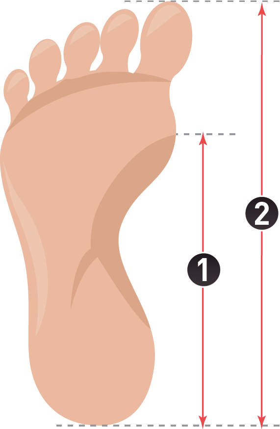 Heels clipart insole. How to measure insoles