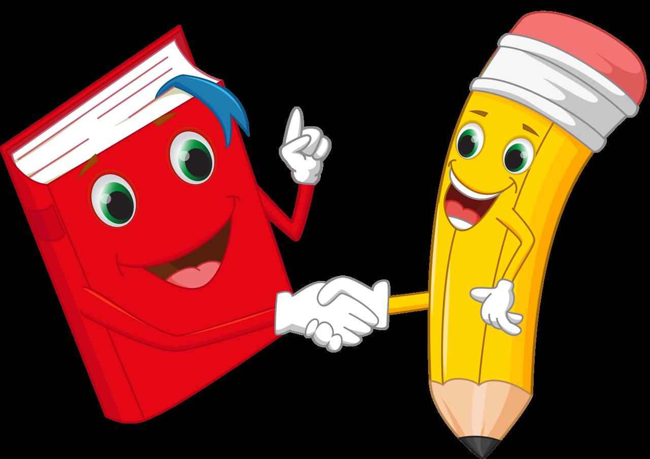 Crayons clipart kawaii. Funny cartoon pencil vector
