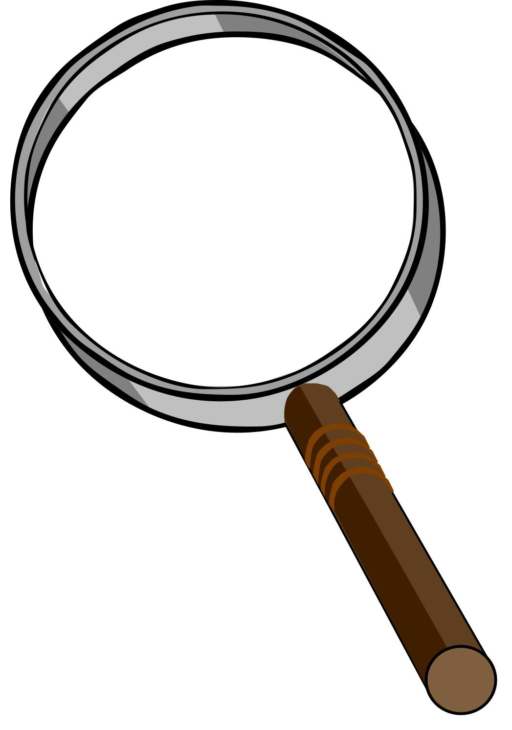 Magnifying educations . Clipart ruler glass