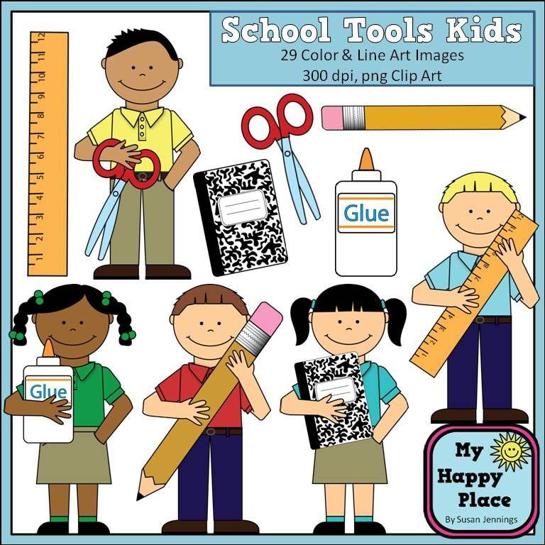 School tools kids clip. Clipart ruler kindergarten
