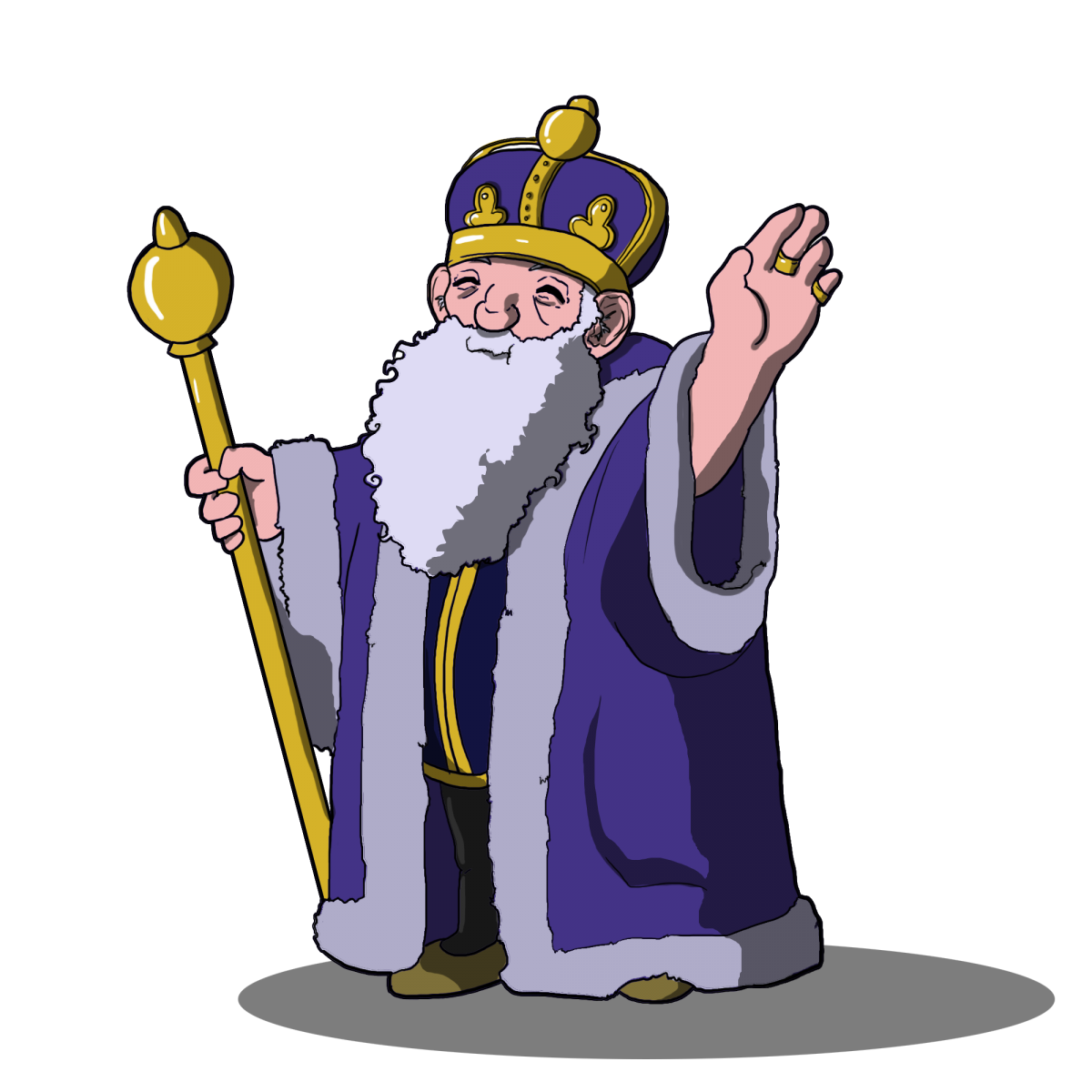 Free on dumielauxepices net. Clipart ruler king