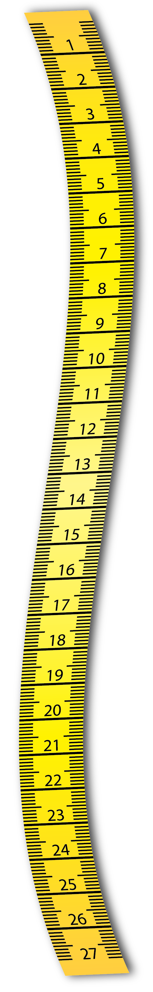 Clipart ruler length. Measure tape png images