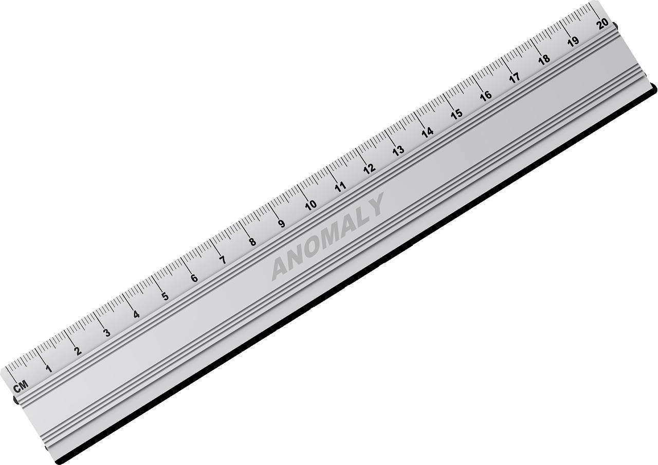 ruler clipart metal ruler