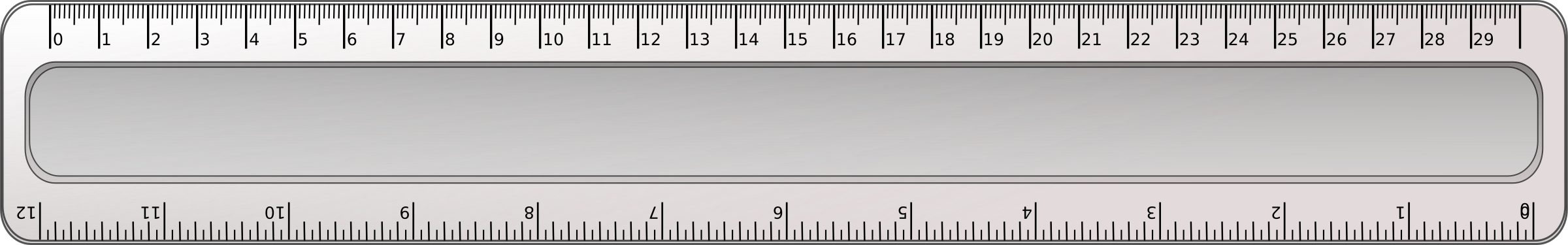 Clipart ruler long ruler. Without url big image