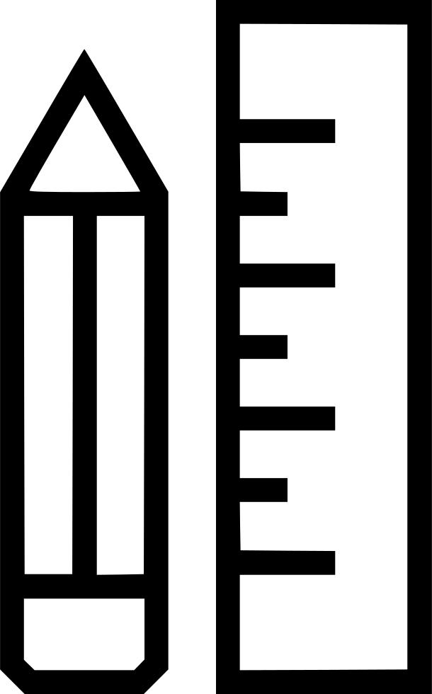 clipart ruler outline