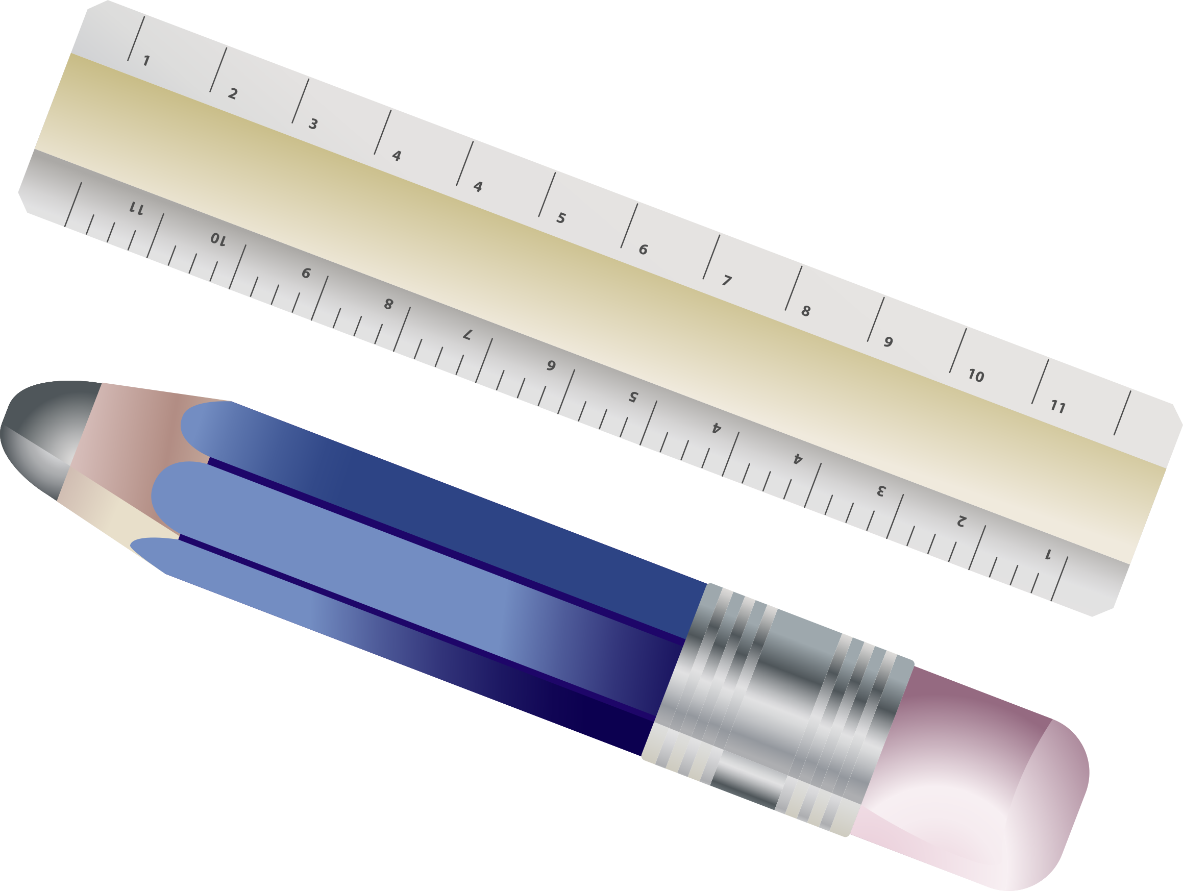 Ruler clipart purple. And pencil big image