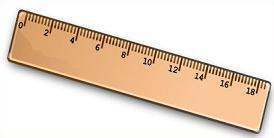 Clipart ruler school. Free