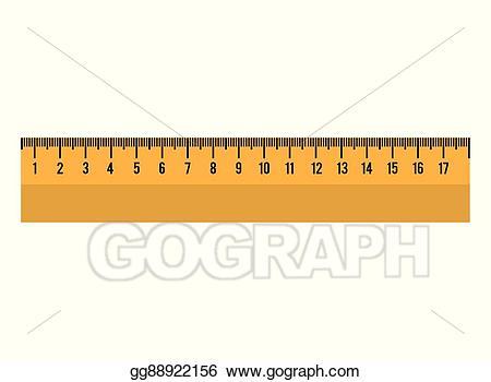 Eps illustration cartoon tool. Clipart ruler school