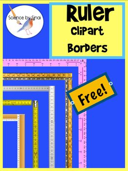 Clipart ruler science. Free borders page border