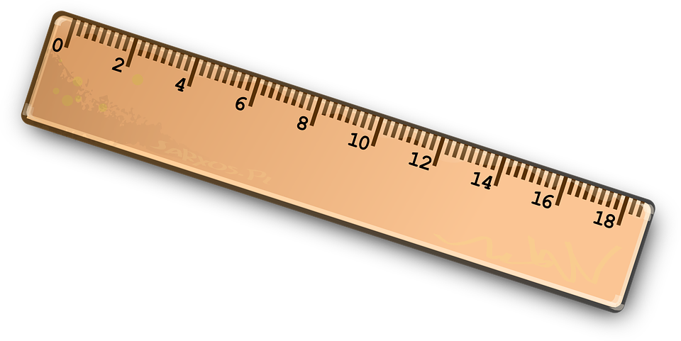 Picture group straight edge. Clipart ruler science