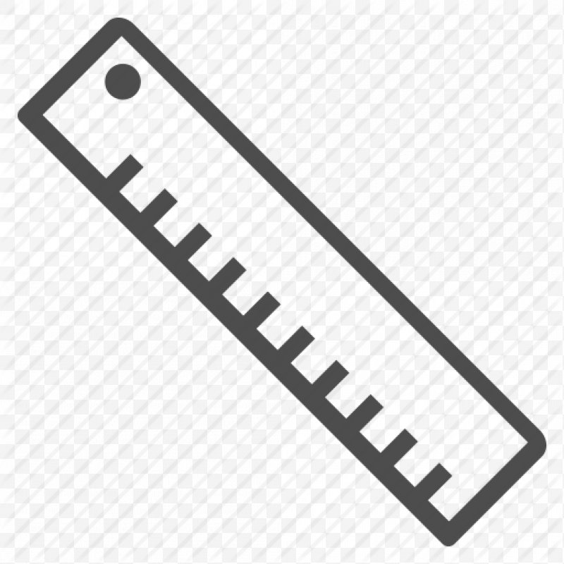 Clipart ruler simple. Pencil drawing png x