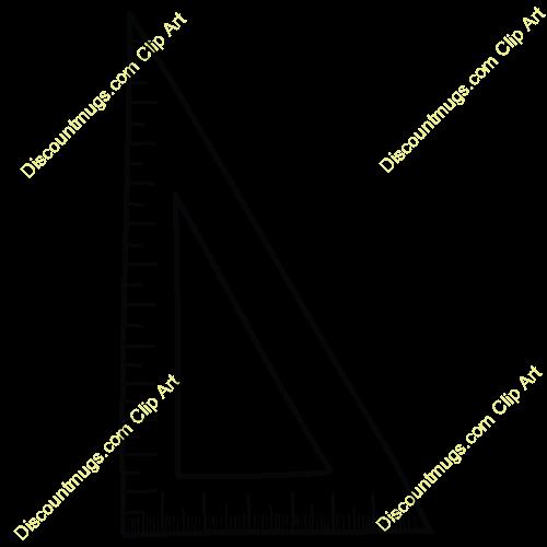 Clipart ruler triangle ruler. Drafting panda free images
