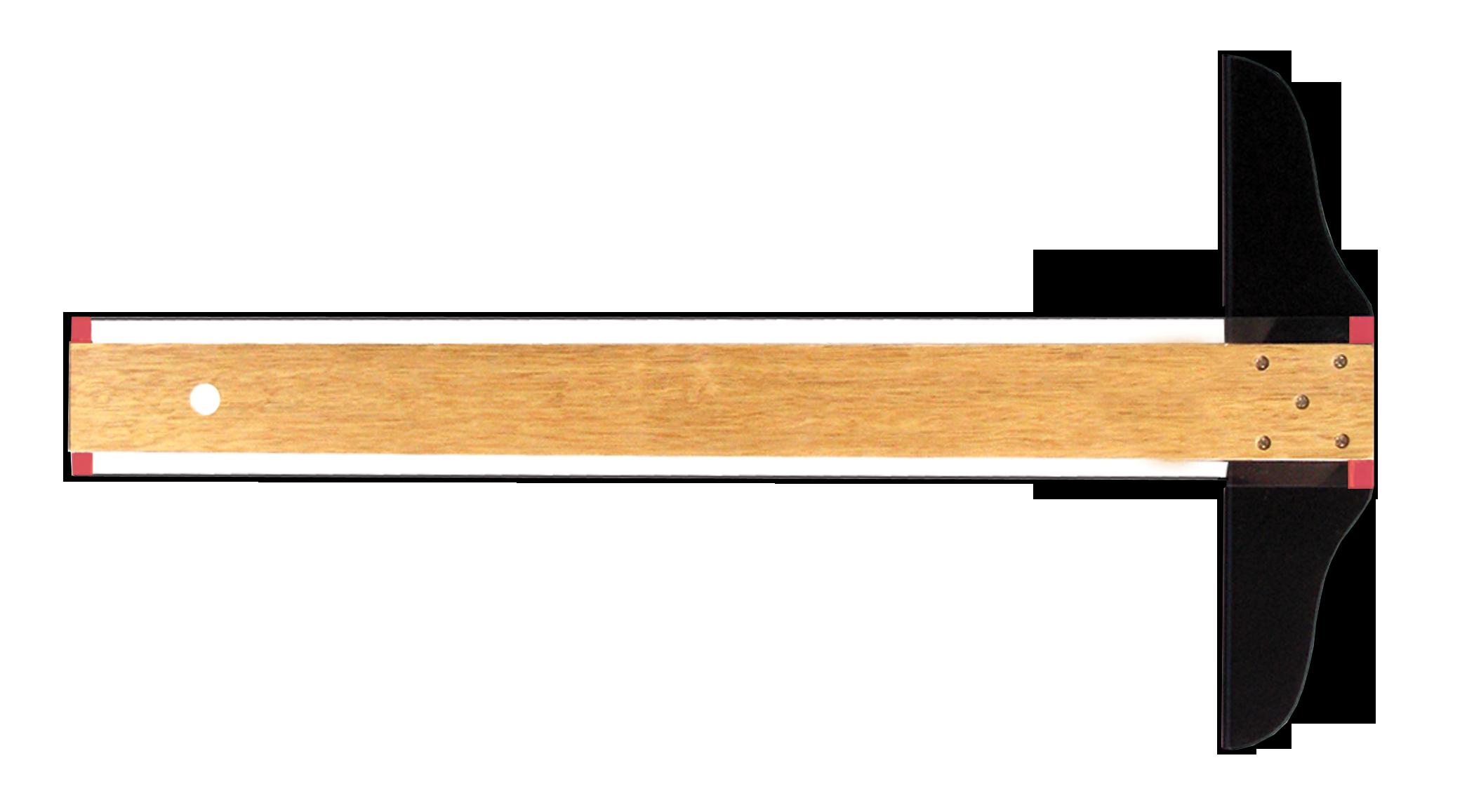 Clipart ruler wooden ruler. T square